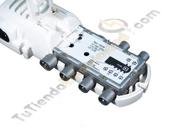 Amplificador television 4 salidas televes amplificador - Amplificador de antena interior ...