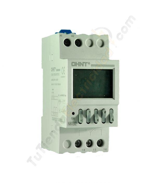 Reloj programador electronico chint relojes y for Programador electrico digital