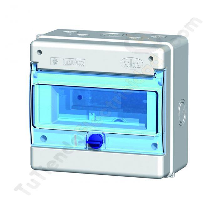 Cuadro automaticos estanco solera cuadros de mando solera for Caja cuadro electrico