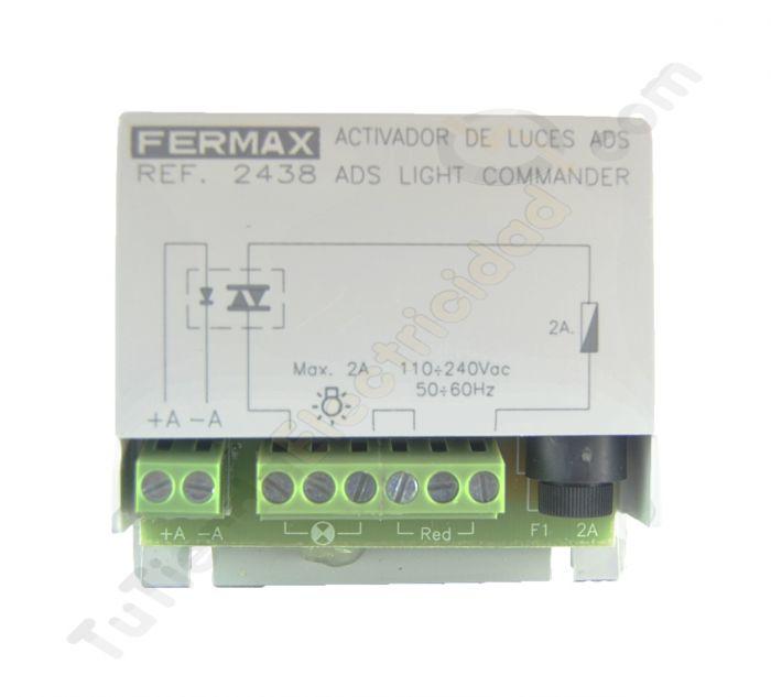 Activador luces o timbre fermax 2438 for Telefonillo fermax esquema