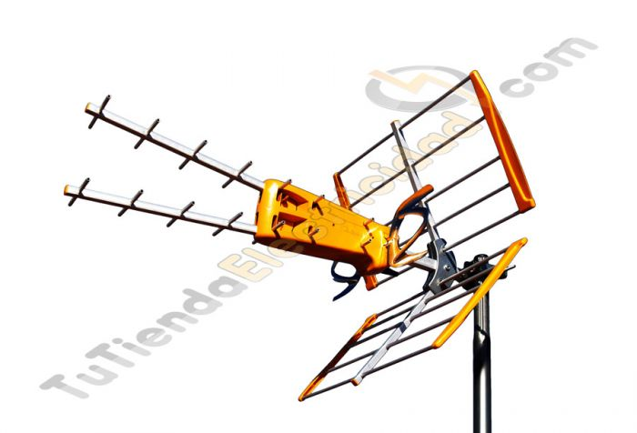 Antena v zenit televes 1492 antenas tdt for Antena de interior para tdt