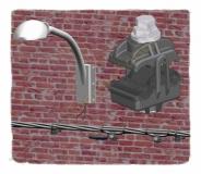 Conectores a perforación para redes aereas de alumbrado publico