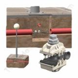 Conectores a perforación para redes subterraneas de alumbrado publico