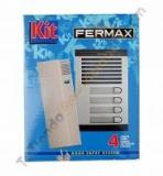 Kit portero Fermax 4 lineas 6335