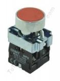 pulsador industrial rojo chint