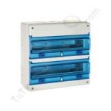 Caja automaticos estanca 36 elementos, solera 1336