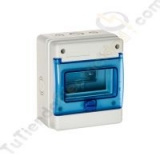 Caja automaticos estanca 6 elementos, solera 1306B