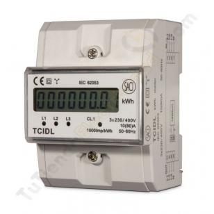 contador digital trifasico SACI TCIDL