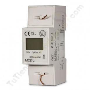 contador electrico monofasico SACI M2DL