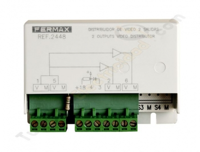 Distribuidor de video Fermax 2448