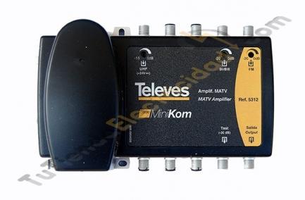 Central amplificadora televes 5312
